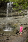Tessa at Bridal Veil Falls